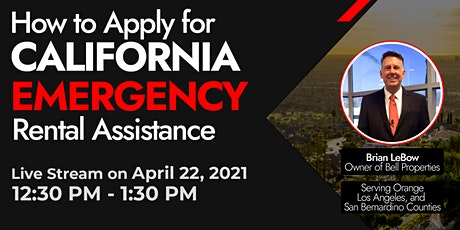 How To Apply For California Emergency Rental Assistance tickets