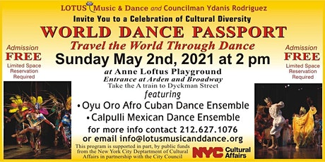 World Dance Passport: Travel the World Through Dance tickets