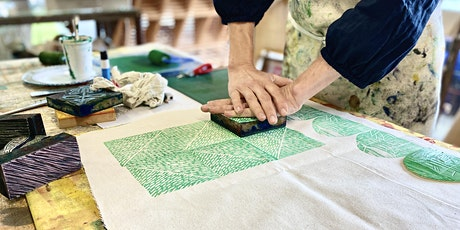 Mother's Day Block Printing - 1 Day Workshop tickets