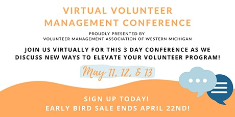 Virtual Volunteer Management Conference 2021 tickets