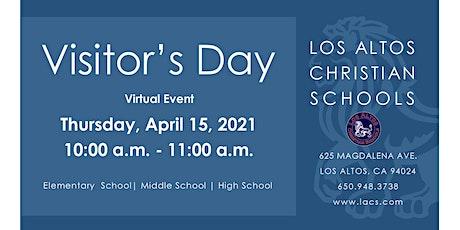 Los Altos Christian Schools (K-11) Visitor's Day billets