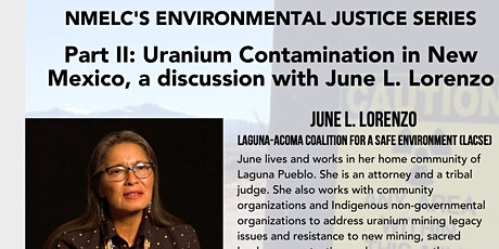 NMELC EJ Series: Part II: Uranium Contamination featuring June L. Lorenzo biglietti