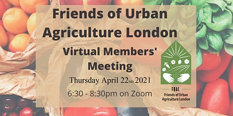 FUAL Members' Meeting April 22nd, 2021; 6:30 pm tickets