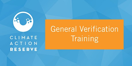 General Verification Training tickets