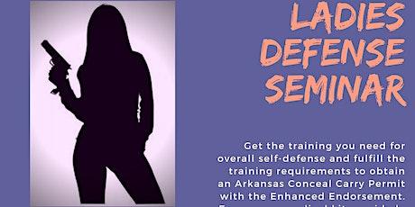 Ladies Defense Seminar tickets