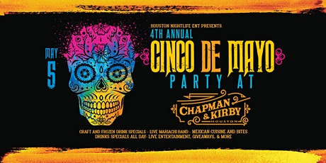 Cinco de Mayo Party at Chapman & Kirby tickets