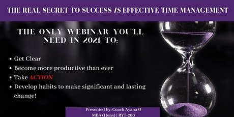 Maximize Your Time, Mindfully - Time Management and Clarity Class tickets