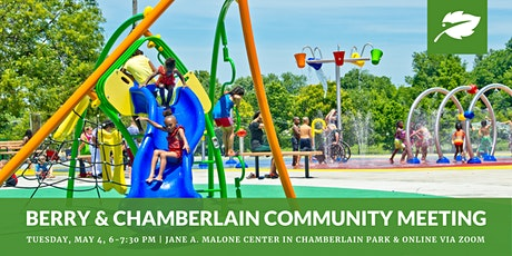 Berry & Chamberlain Community Meeting #2 with Tulsa Parks tickets