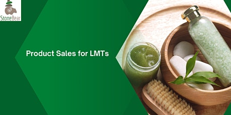 Masterclass: Product Sales for LMTs tickets