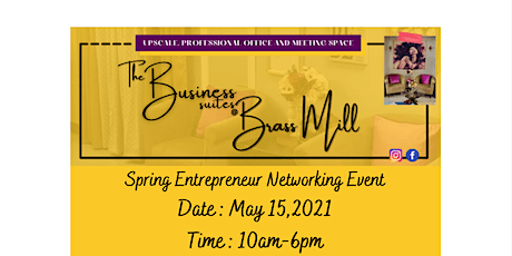 Spring Entrepreneur Networking Event tickets