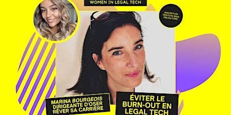 Ateliers WILT l Éviter le burn-out en Legal Tech billets