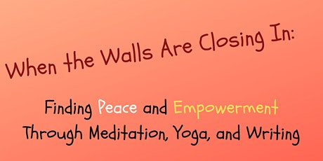 When the Walls are Closing In: a Game-Changing Workshop for Teens & Tweens tickets
