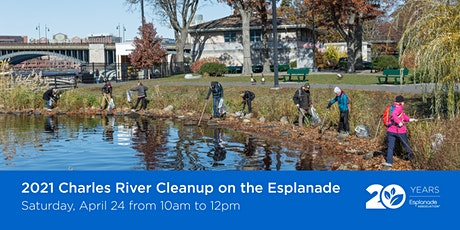 Charles River Cleanup on the Esplanade- Individual Volunteers tickets