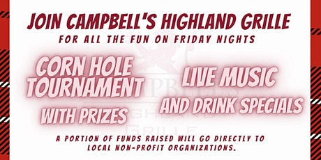 Friday Night Cornhole and Live Music for Charity tickets