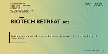 Biotech Retreat 2021 tickets
