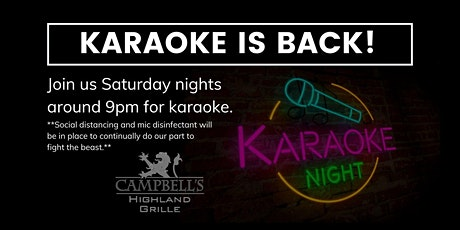 Saturday Night Karaoke tickets