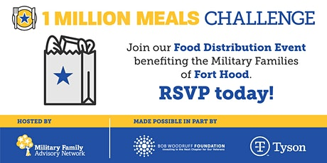 MFAN Food Distribution Event for Fort Hood area Military Families tickets