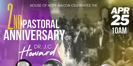 Pastoral Anniversary of Dr. J.C. Howard tickets