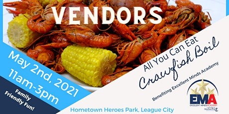 Anchor Point's EMA Crawfish Boil- Vendors tickets