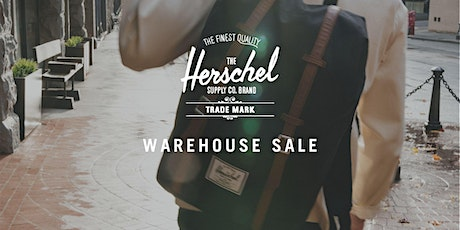 Herschel Supply Warehouse Sale - Encinitas, CA tickets
