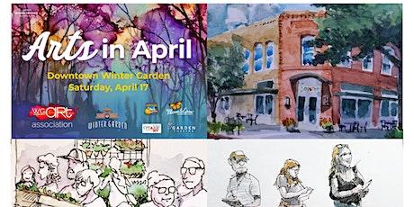 Urban Sketching Art Night at Downtown Winter Garden tickets
