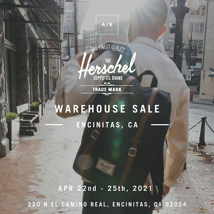 Herschel Supply Warehouse Sale - Encinitas, CA image