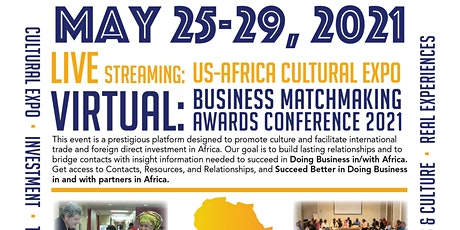 The 6th Annual US-Africa Cultural Expo and Business Matchmaking conference tickets