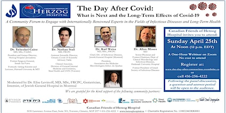 The Day After Covid:  What is Next and the Long-Term Effects of Covid-19 entradas