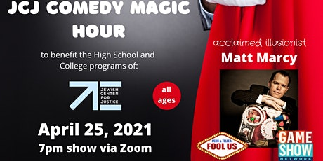 JCJ Comedy Magic Hour tickets