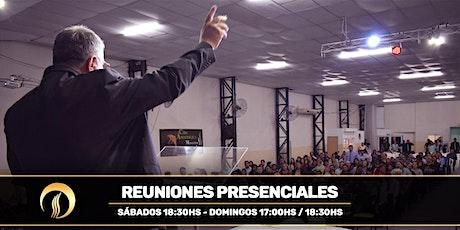Centro Cristiano Manantial de Vida - Reuniones Presenciales entradas