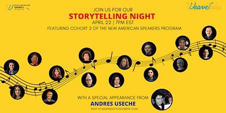 New American Speakers Program Storytelling Night tickets