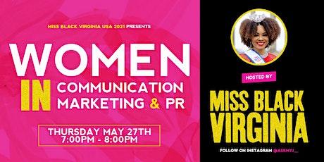 Women In Comms, Marketing & PR tickets