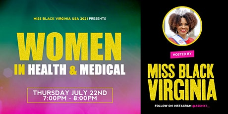 Women In Health & Medical tickets