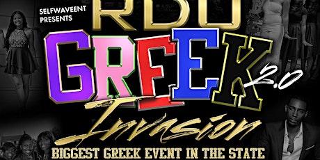 RDU GREEK INVASION tickets