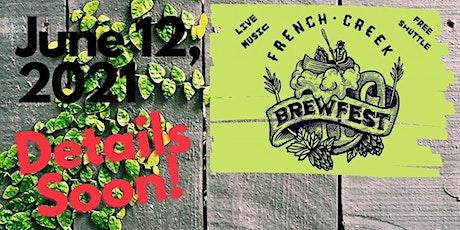 French Creek Brewfest tickets