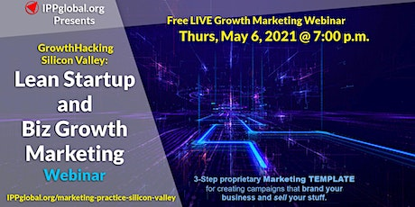 Lean Startup and Biz Growth Marketing tickets