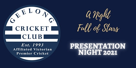 Geelong Cricket Club Presentation Night tickets