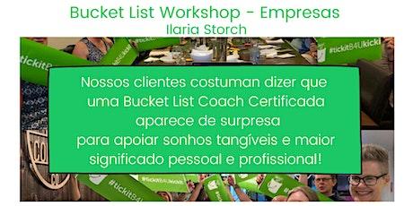 BUCKET LIST WORKSHOP - EMPRESAS - HAPPY-HOUR COM SIGNIFICADO bilhetes