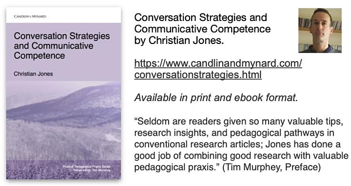Conversation Strategies and Communicative Competence by Christian Jones image