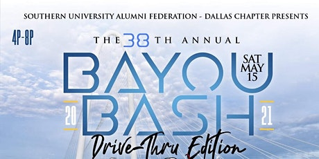SUAF-Dallas Chapter 38th Annual Bayou Bash, Drive-Thru Edition tickets