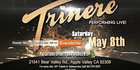 Trinere live tickets