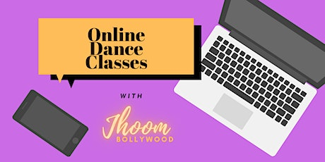 Online Dance Class - Jhoom Bollywood - Wednesday 14th April 2021 tickets