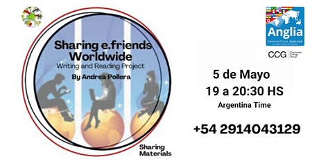 """Introducing the Project """"Sharing e.Friends Worldwide - Sponsored by Anglia tickets"""