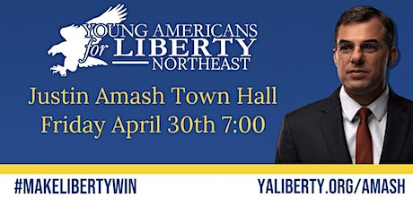Justin Amash Town Hall tickets