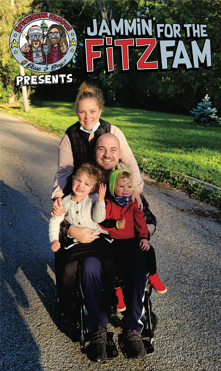 Kitchener Famous Presents: Jammin' for the Fitz Fam image