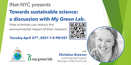 Towards sustainable science: a discussion with My Green Lab tickets