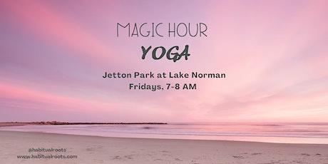 Habitual Yoga - Magic Hour at Lake Norman tickets