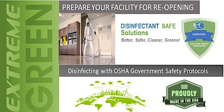 Opening Up America - Disinfecting  Dangers - Are you  at Risk ? tickets
