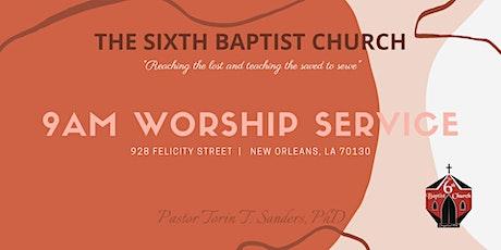 9AM Worship Service   April 11, 2021 tickets