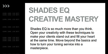 REDKEN SHADES EQ CREATIVE MASTERY(Mobile, AL.) tickets
